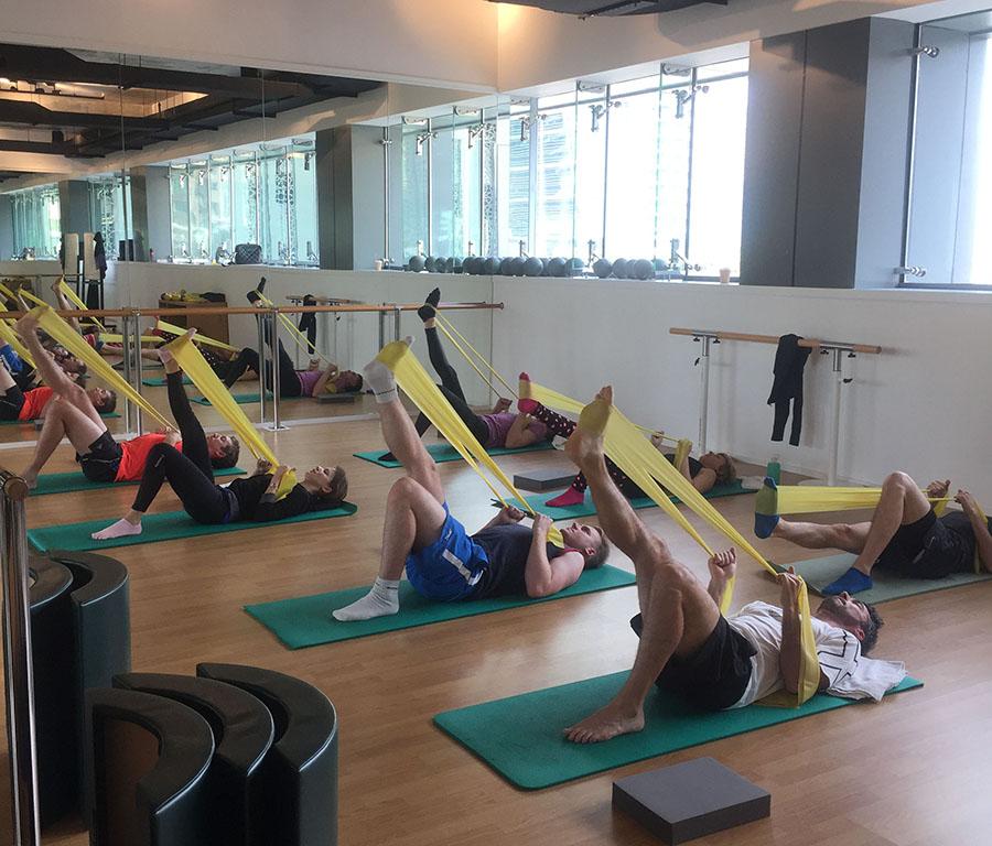 pilates for men dubai