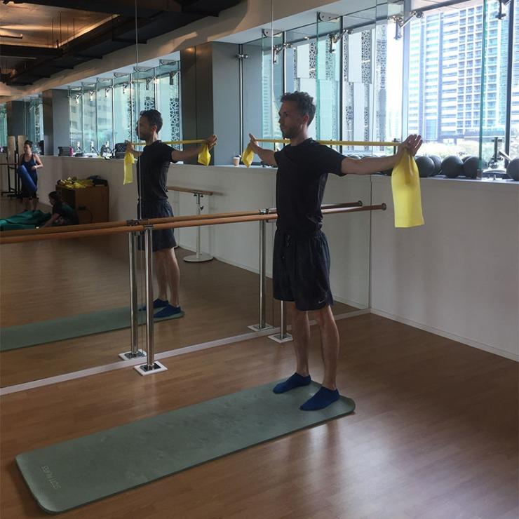 Men do Pilates