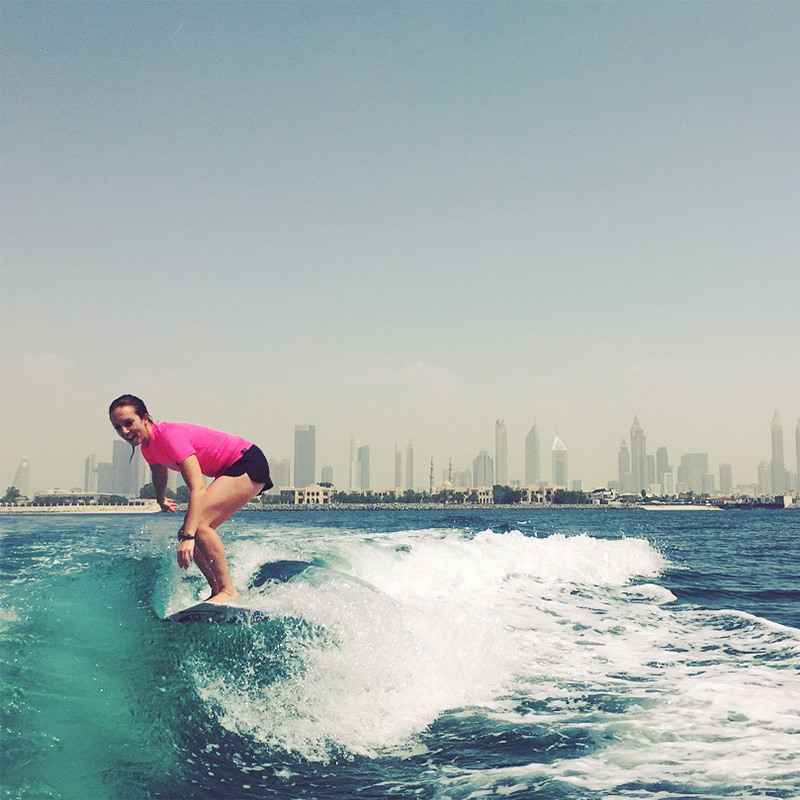 wake surfing dubai