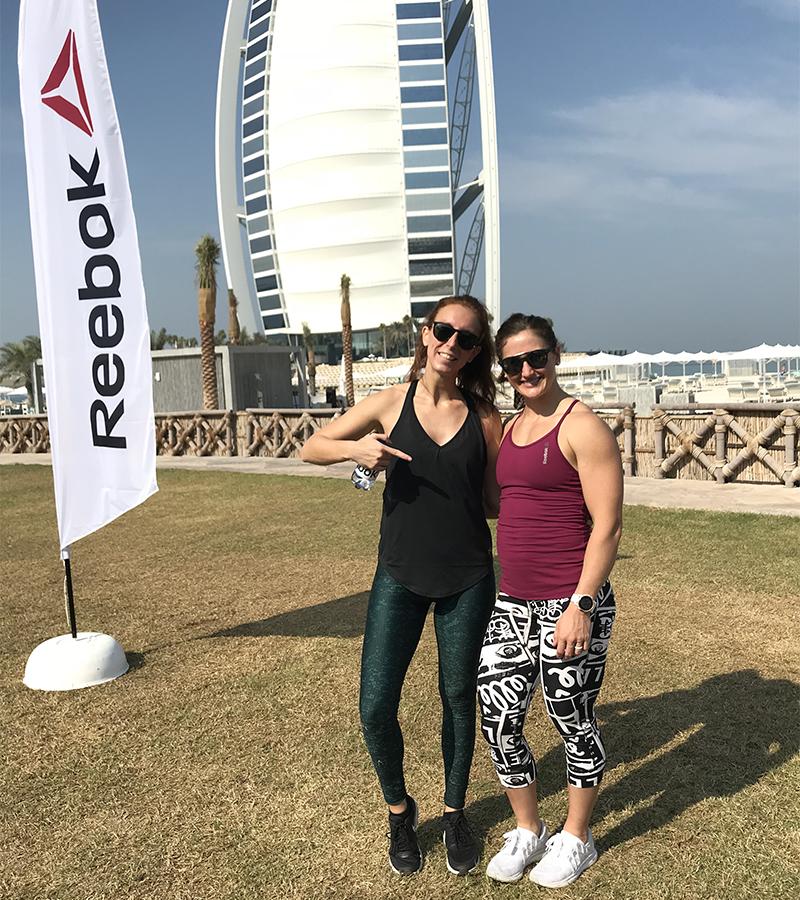 Tia Toomey Dubai