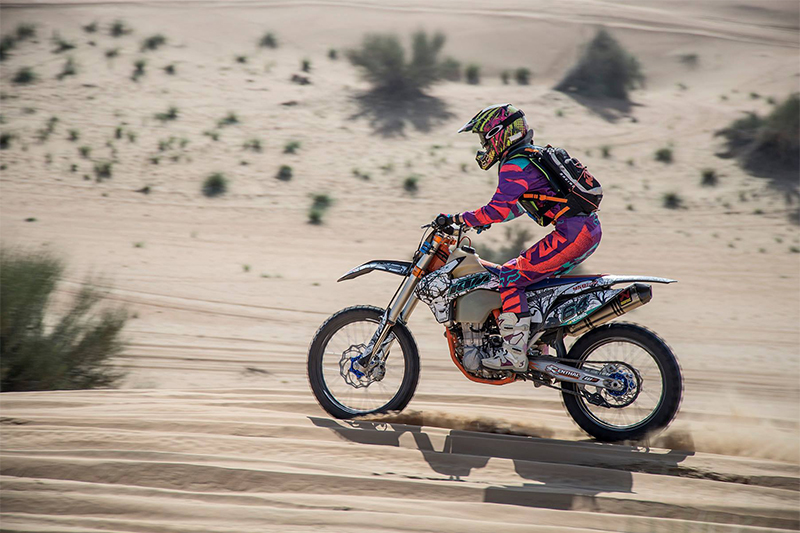 desert bike ride