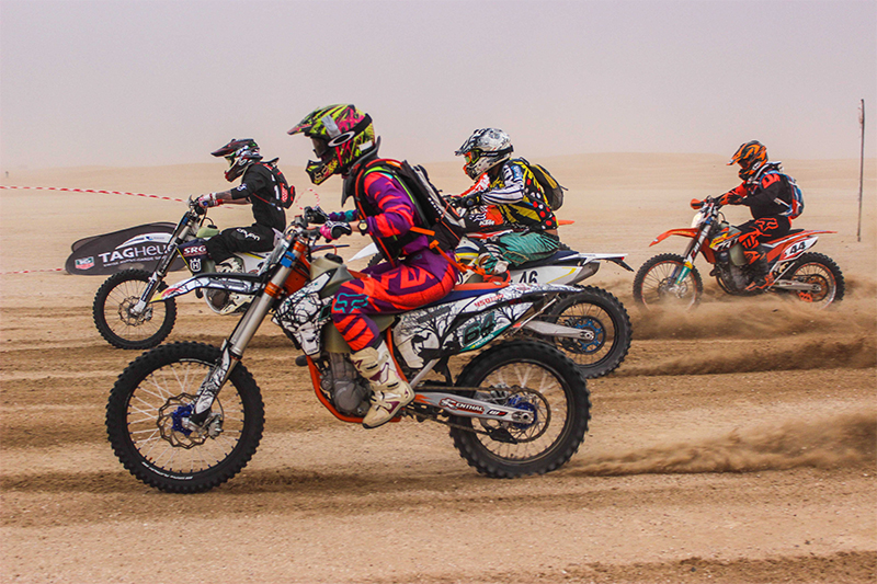 desert motorbiking