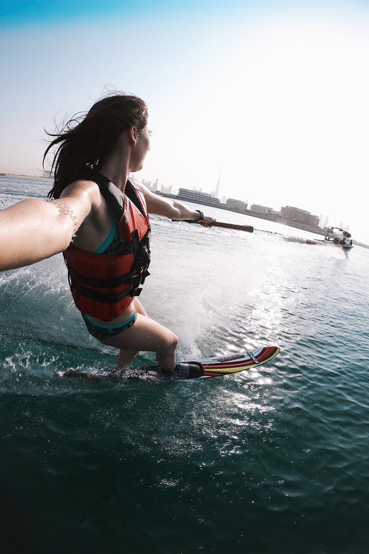 kite surfing dubai