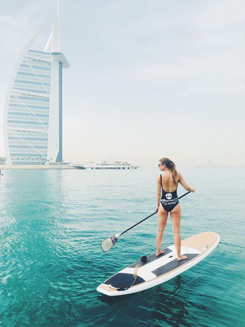 paddleboarding in dubai