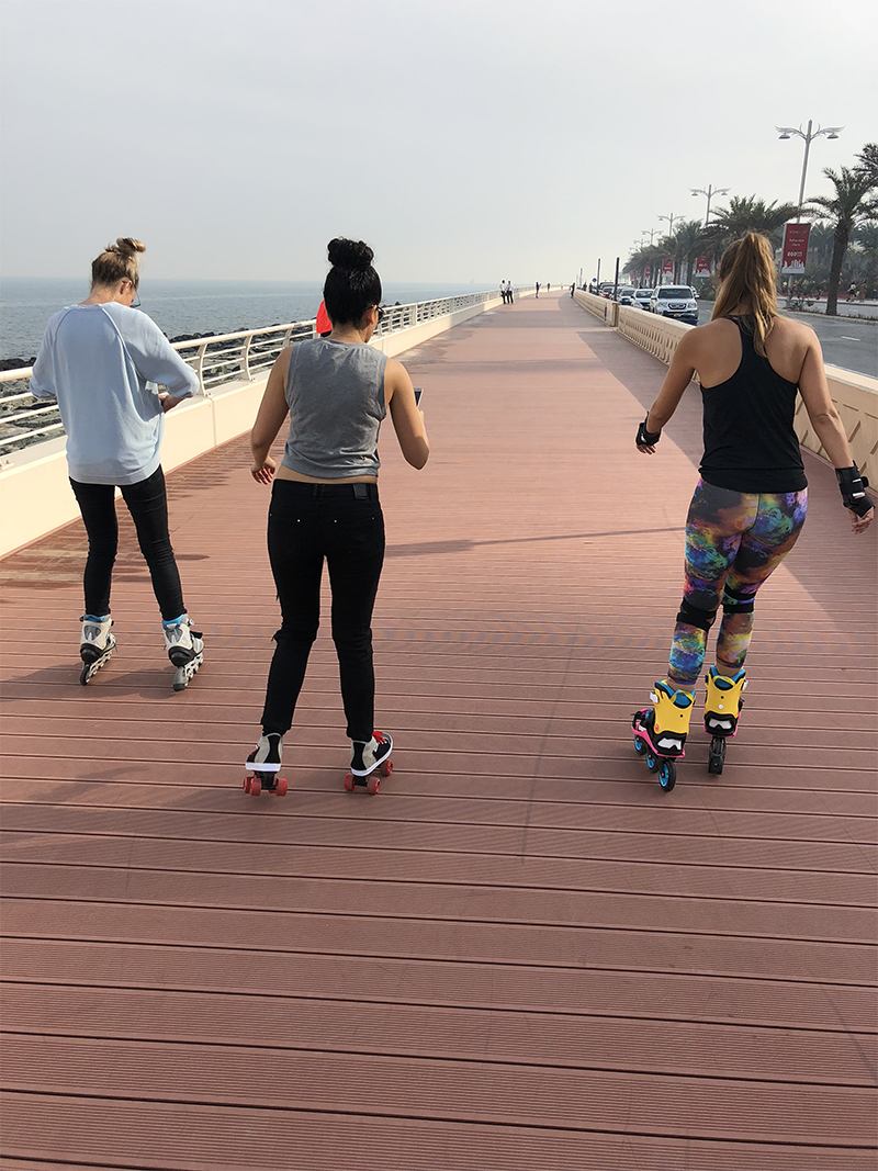 skating in Dubai